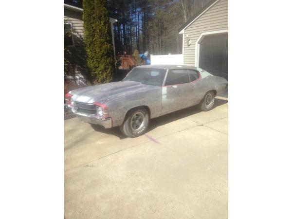 Chevrolet Chevelle 1971 $10000.00 incacar.com