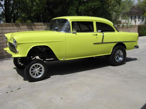 Chevrolet Bel Air/150/210 1955 $37500.00 incacar.com