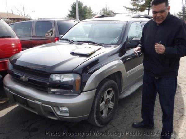 Chevrolet Trailblazer 2003 $3250.00 incacar.com