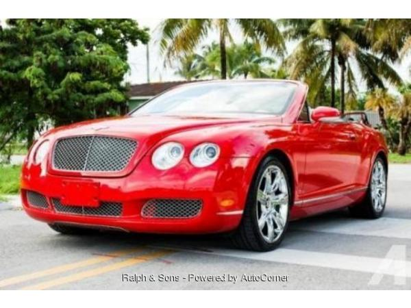 Bentley Continental 2007 $109500.00 incacar.com