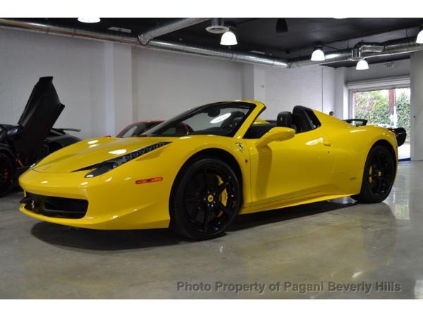 Ferrari 458 2015 $235000.00 incacar.com