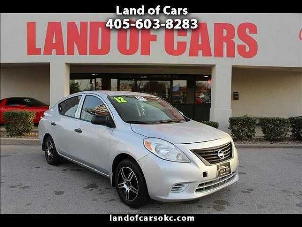 Nissan Versa 2012 $4599.00 incacar.com