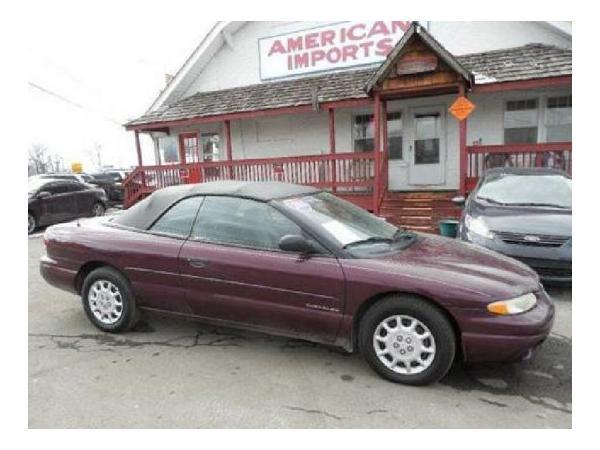 Chrysler Sebring 2000 $1995.00 incacar.com