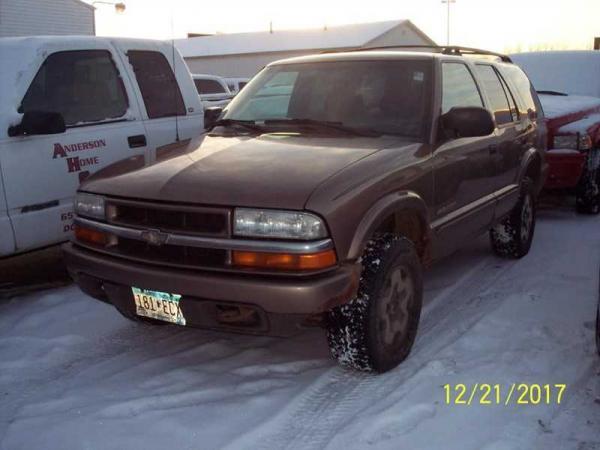Chevrolet Blazer 2003 $875.00 incacar.com