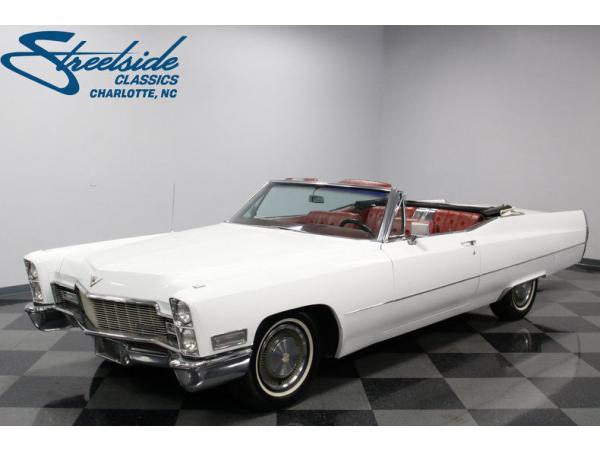 Cadillac DeVille 1968 $21995.00 incacar.com