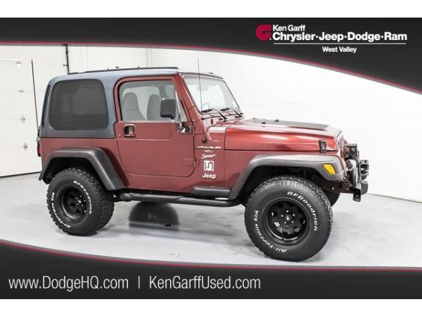 Jeep Wrangler 2001 $9701.00 incacar.com