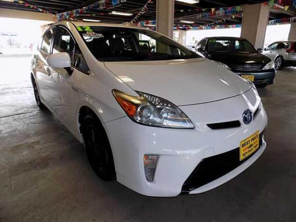 Toyota Prius 2012 $1000.00 incacar.com