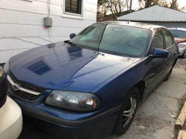 Chevrolet Impala 2004 $1500.00 incacar.com