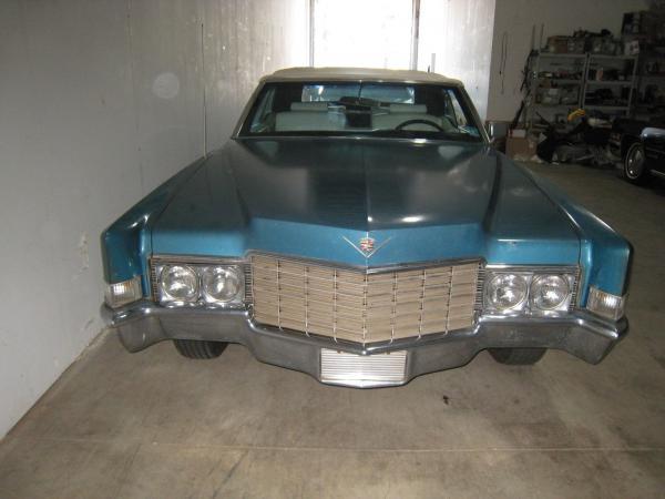 Cadillac DeVille 1969 $10500.00 incacar.com