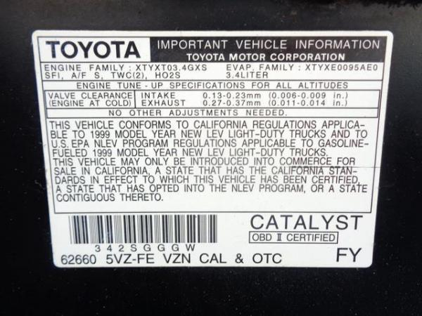 Toyota 4Runner 1999 $1025.00 incacar.com