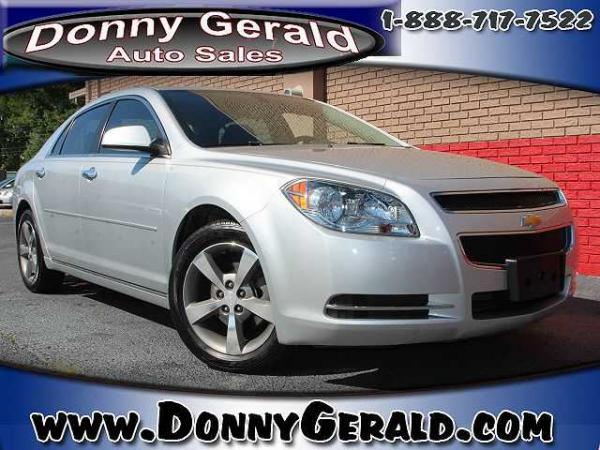 Chevrolet Malibu 2012 $10800.00 incacar.com