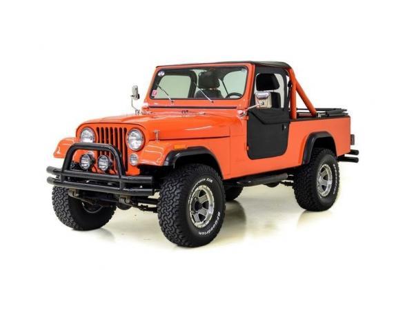 Jeep Scrambler CJ 8 1984 $25995.00 incacar.com