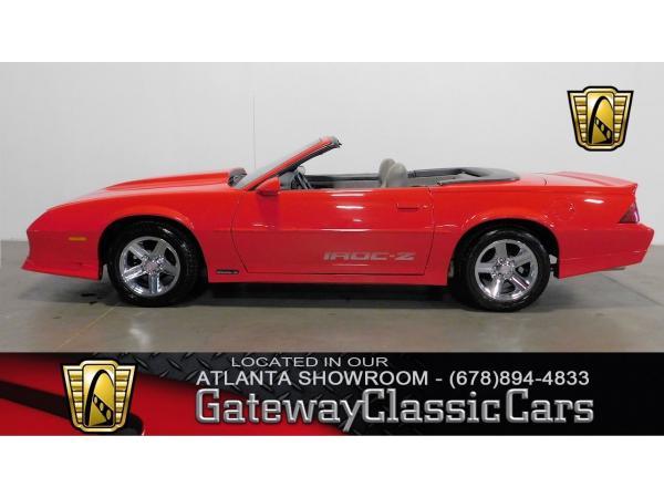 Chevrolet Camaro 1989 $15995.00 incacar.com