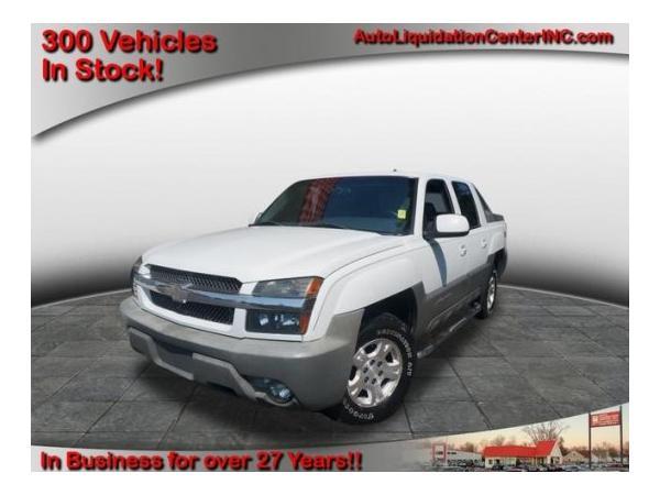 Chevrolet Avalanche 2002 $6500.00 incacar.com
