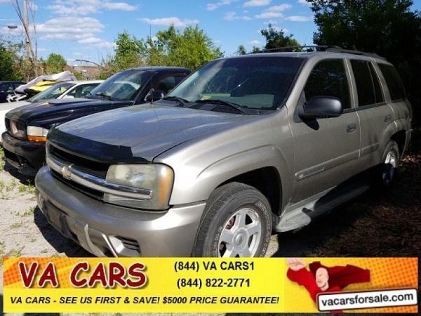 Chevrolet Trailblazer 2002 $3500.00 incacar.com