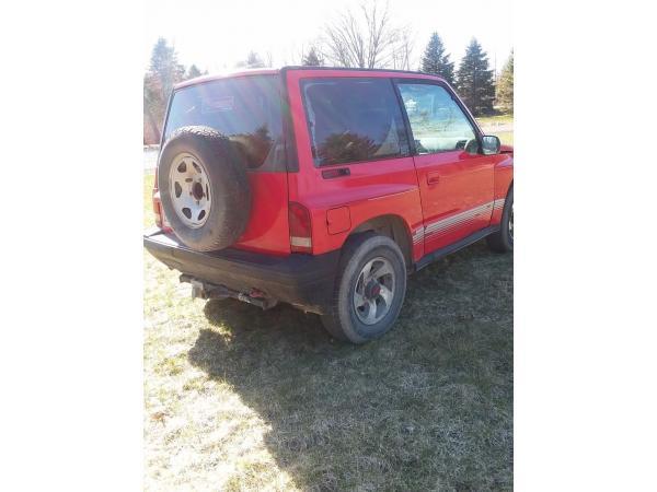 Chevrolet Tracker 1992 $3000.00 incacar.com