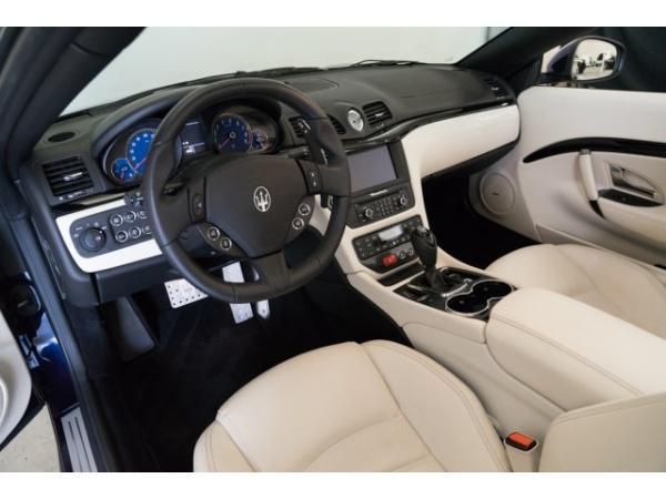Maserati GranTurismo Convertible 2017 $99988.00 incacar.com