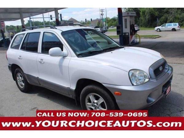 Hyundai Santa Fe 2004 $1600.00 incacar.com