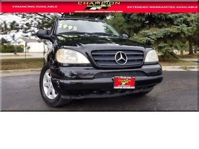 1999 Mercedes Benz Ml 430 Awd 2900 00 For Sale In